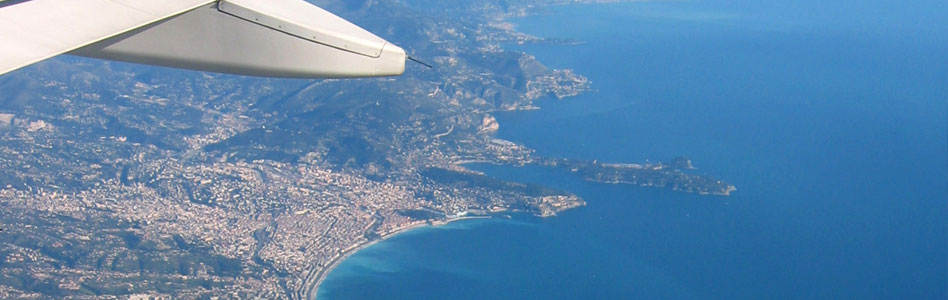 NICE AIRPORT. Nice Airport is also known as Côte d'Azur Airport, due to the name of the French Riviera.